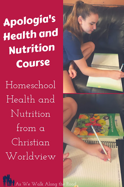 A review of #Apologia's #homeschool health and nutrition course for high school #AsWeWalk