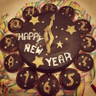Silvester, Torte, Muffins, Schokolade