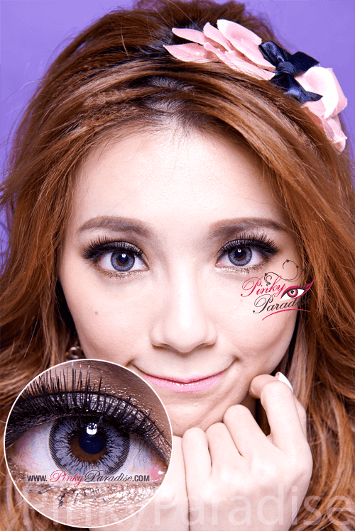 Mi Sunflower Grey Toric Circle Lenses (Colored Contacts)