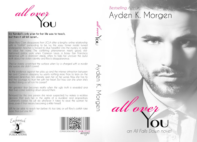 Cover Reveal: All Over You by Ayden K Morgen 9