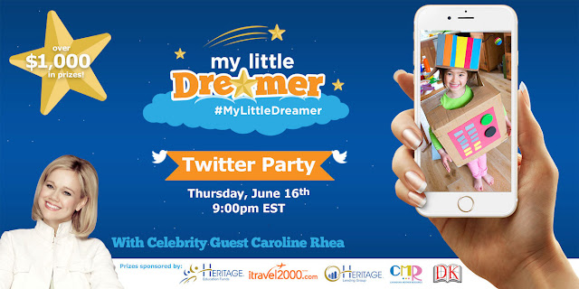 #MyLittleDreamer Twitter Party with Caroline Rhea