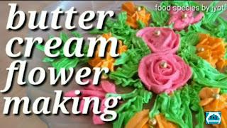 Homemade butter cream