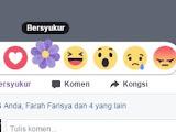 Icon Baru Bersyukur di facebook
