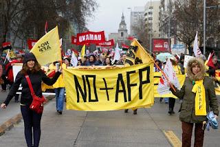 """Coordinadora No+AFP entrega proyecto """"Nuevo Sistema Previsional para Chile"""" en la Cámara de Diputados"""