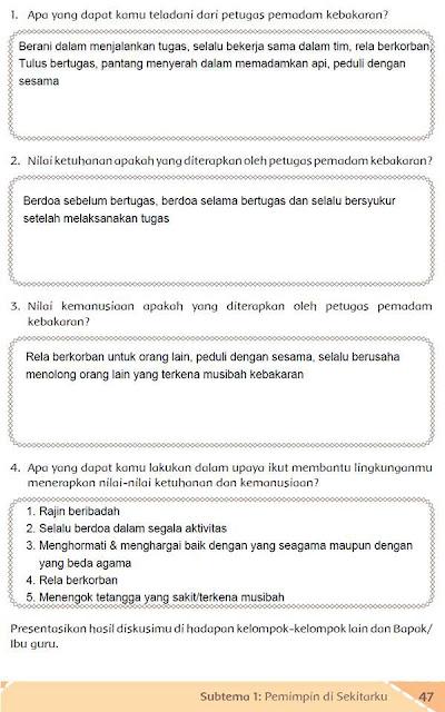Kunci Jawaban Buku Siswa Kelas 5 Tema 7 Halaman 46 Guru Ilmu Sosial