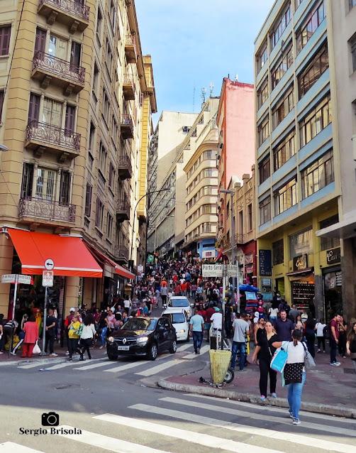 Vista inferior da Ladeira Porto Geral - Centro - São Paulo