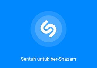 sentuh logo shazam