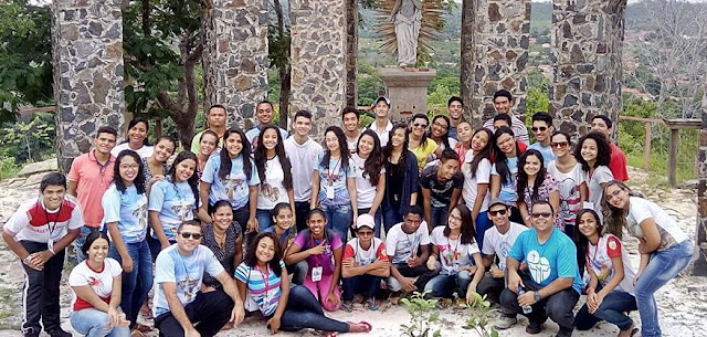 Jovens do Piauí realizam missão durante a Semana Santa