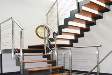How to Very Easily Refinish Stair Treads and Railings