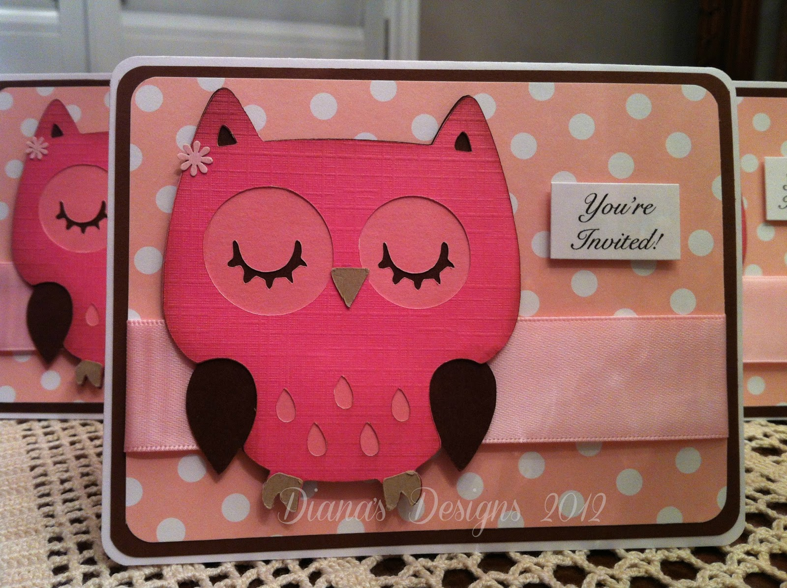 First birthday invitations cricut critter owl toronto teacher mom in about a month my niece will be celebrating her first birthday when my sister in law asked if i could put together some invitations how could i say no filmwisefo