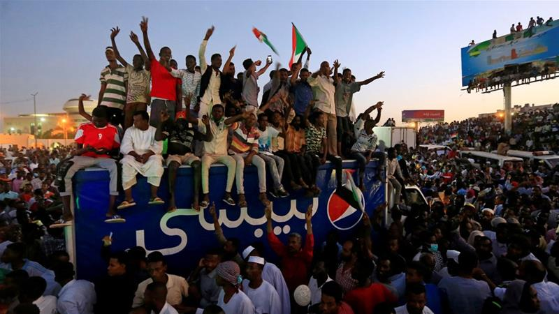 Upcoming days some thing will be start, like happenig in Sudan