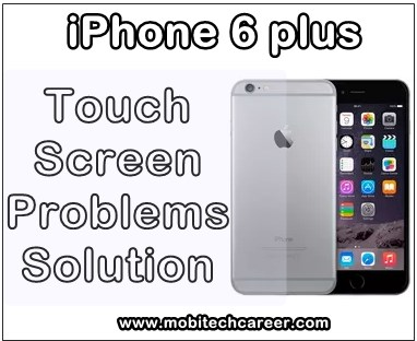 how to fix repair solve apple iphone 6 plus + screen replacement unresponsive not responsive problems solution near me nyc