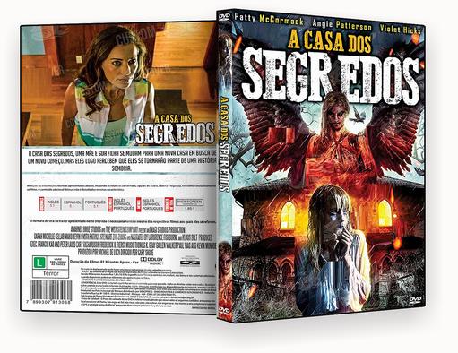 CAPA DVD – A CASA DOS SEGREDOS 2018 – ISO