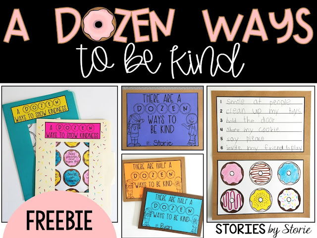 The Jelly Donut Difference is a great book to add to your character education collection. Here is a free craft that focuses on the importance of kindness using the donut theme from the story. An option for half a dozen ways to show kindness is included for younger students.
