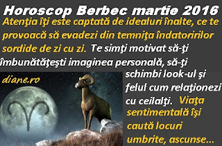 Horoscop Berbec martie 2016