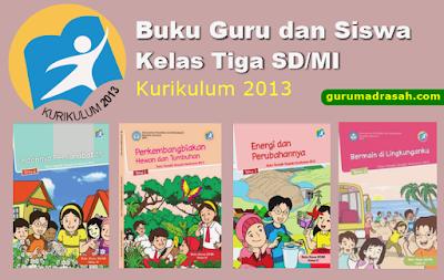 buku guru dan siswa kelas 3 sd/mi k 13