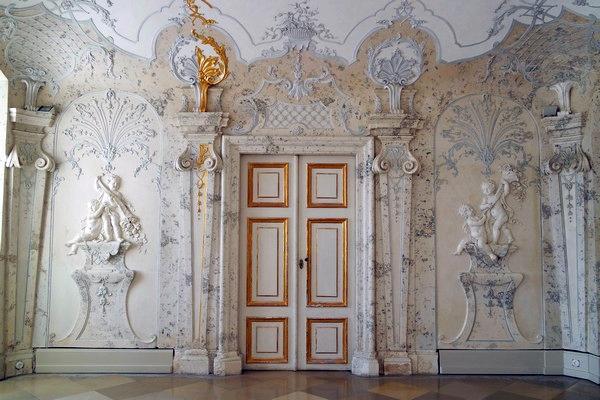 autriche basse-autriche schloss château hof sala terrena