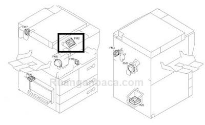Solusi Perbaiki E805 mesin fotocopy Canon IR