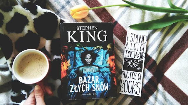""",,Bazar złych snów"""" Stephen King"""