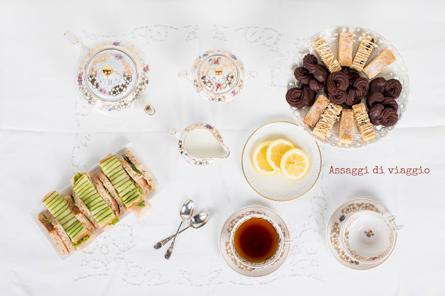 L'afternoon tea inglese