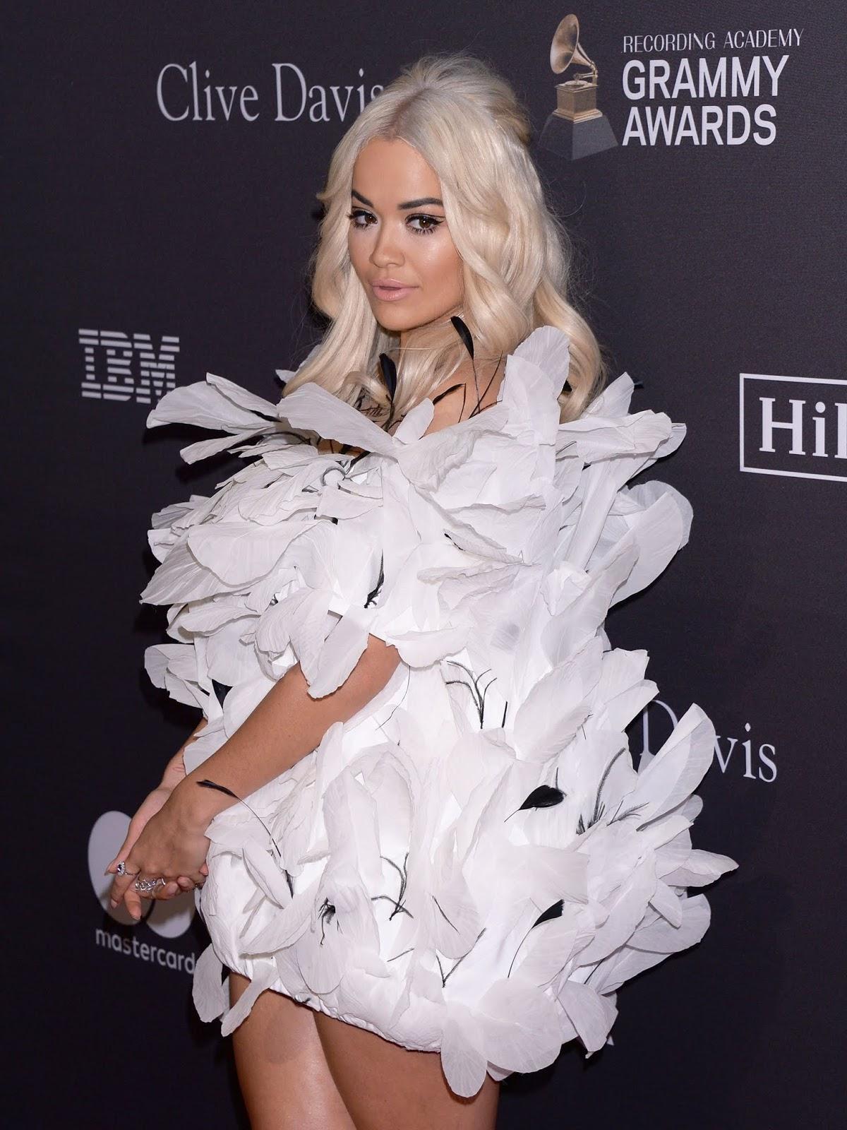 Rita Ora - Clive Davis' 2019 Pre-Grammy Gala in LA - 02/09/2019