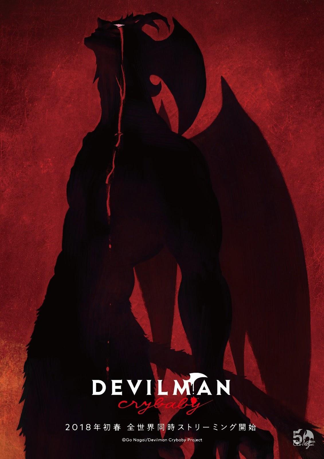 DEVILMAN Crybaby se estrena en Netflix