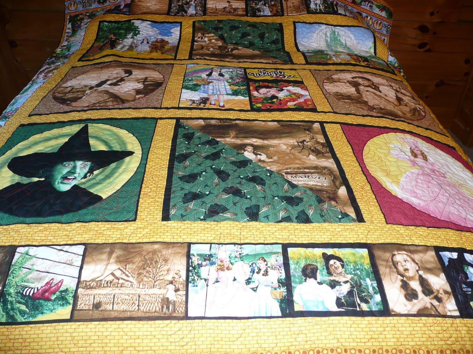 Acorn Ridge Quilting Marge S Wizard Of Oz Quilt