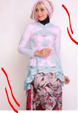 Model Baju Gamis Brokat Kombinasi Terbaru 2017 Baju Muslim Modern