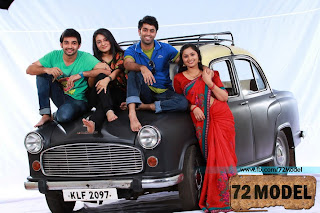 Amby car as hero in 72 Model Malayalam film