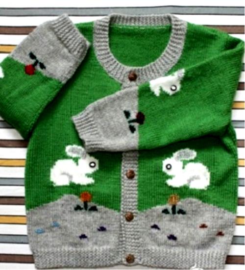 Bunny Jacket - Free Pattern