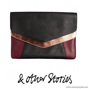 Crown Princess Victoria style Other Stories Scuba Leather Clutch