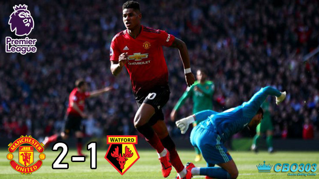 Video Highlights dan Cuplikan Gol Manchester United vs Watford (30 Maret 2019)