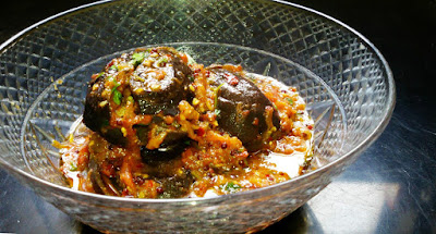Stuffed Eggplant Recie, Bharwan Baingan Recipe, Veg eggplant recipe by the hoggerz