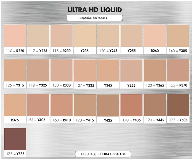 Base Ultra HD Foundation Make Up Forever 4