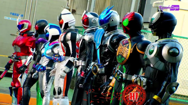 Kamen Rider x Kamen Rider Wizard x Fourze : Movie wars Ultimatum DC Subtitle Indonesia