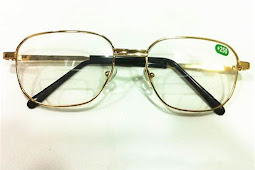 Reading dark glasses - the need of the short sightedness and hypermetropy