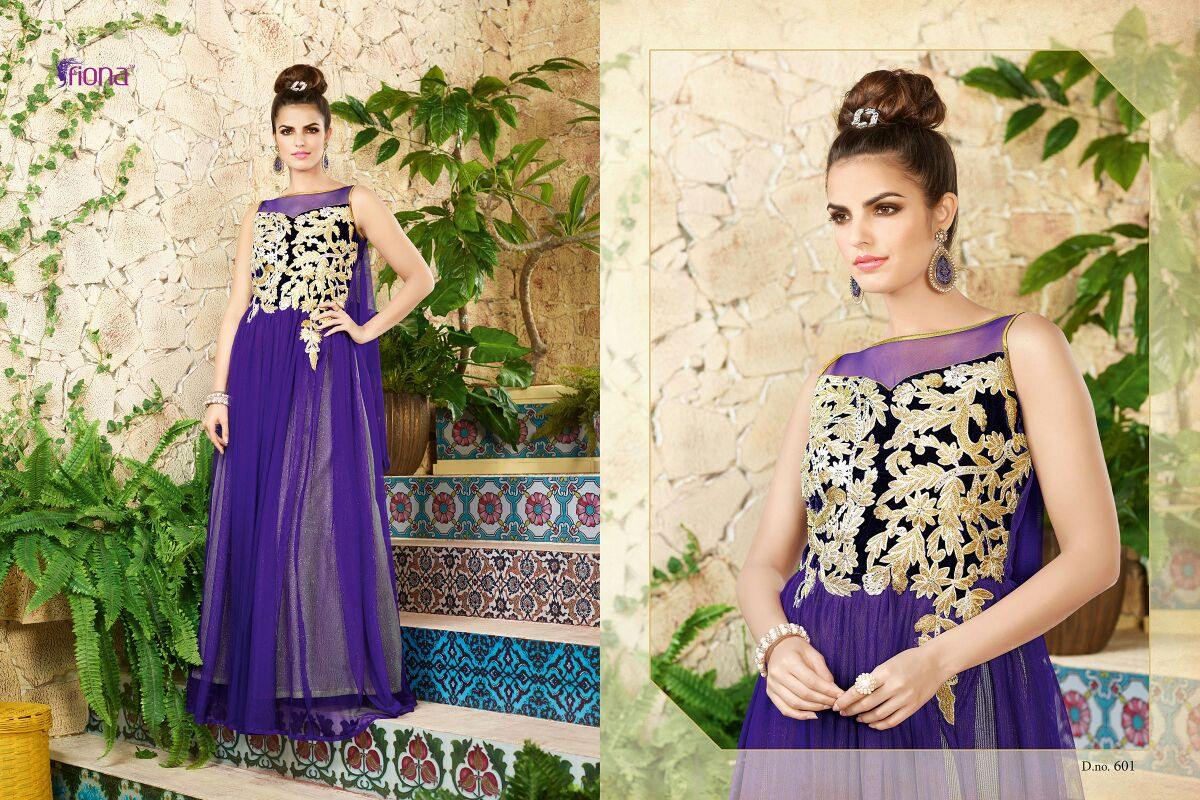 Fiona – Fashionable Collection Traditional Heavy Designer Gown