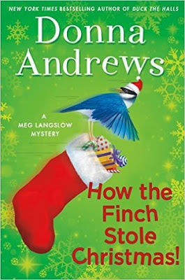 Bea's Book Nook, Review, How the Finch Stole Christmas, Donna Andrews