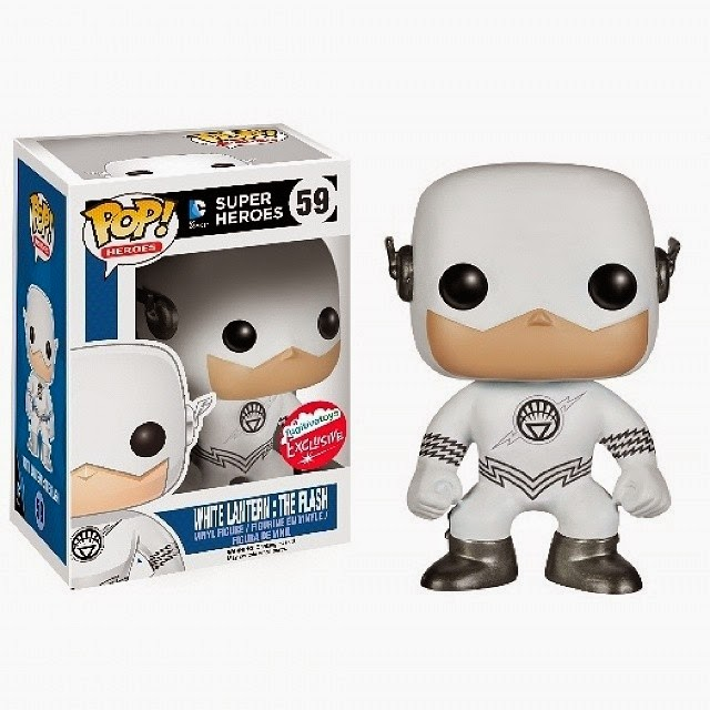 San Diego Comic-Con 2014 Exclusive White Lantern The Flash DC Comics Pop! Vinyl Figure by Funko