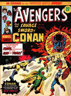 Marvel UK, The Avengers #103, Kang