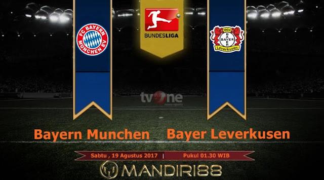 Bayern Munchen akan memulai perjalananya pada Bundesliga isu terkini  Terkini Prediksi Bola : Bayern Munchen Vs Bayer Leverkusen , Sabtu 19 Agustus 2017 Pukul 01.30 WIB
