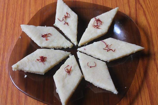 Badam Katli Recipe - Almond Katli Recipe