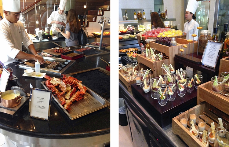 Euriental | brunch at Traiteur, Park Hyatt Dubai.