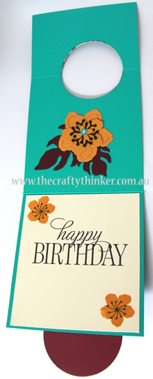 SU, Crazy Crafters Blog Hop, Botanical Builder, Botanical Blooms, Fun Fold