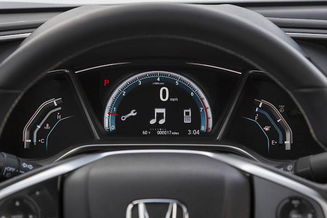 Honda Civic Hatch 2017 - painel