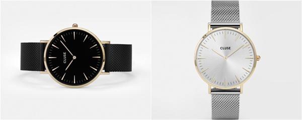 Time for a new Cluse Watch - www.josieslittlewonderland.de - cluse rabatt code, cluse la bohéme, bicolor watch