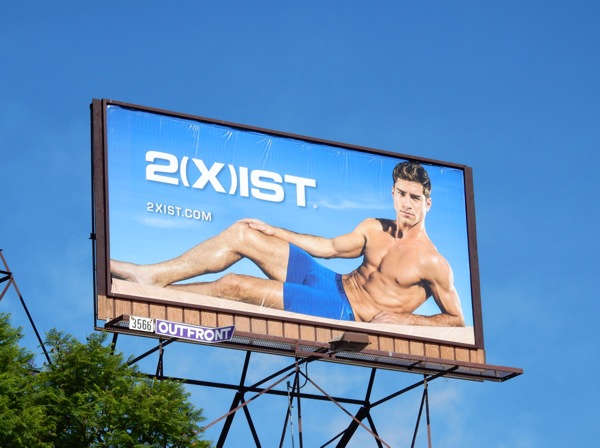 2Xist underwear 2015 billboard
