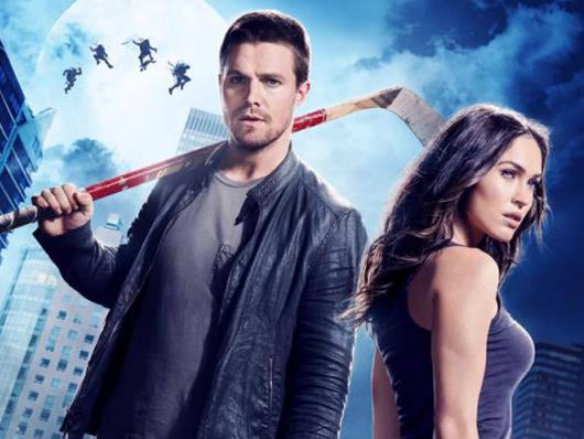 Póster de 'Ninja Turtles: Fuera de las sombras' con Megan Fox y Stephen Amell