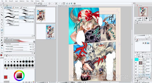 Manga Studio EX for Windows Free Setup