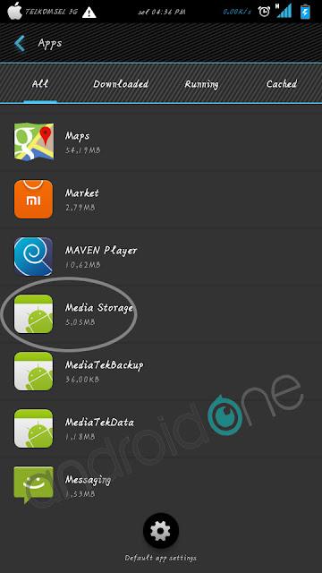 Cara menghilangkan file berganda di Android